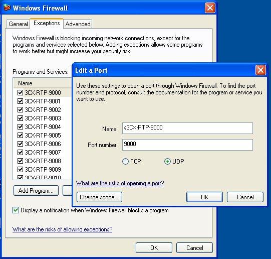 RTP-firewall