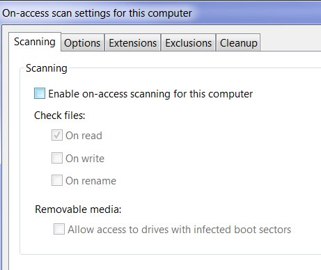 Disable-sophos-enable