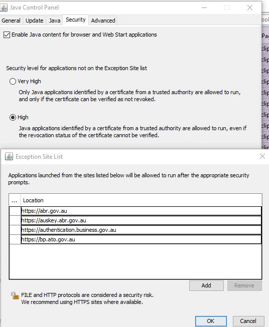 java-auskey-exception
